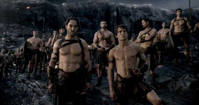 300: Rise of an Empire, no muscle
