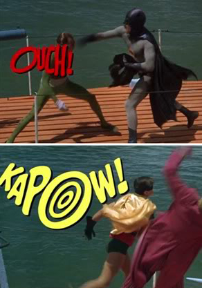 Batman caption fights