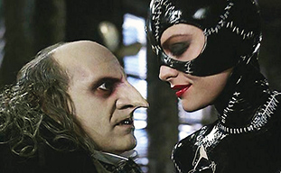 Batman Returns Danny DeVito as Penguin Michelle Pfeiffer as Catwoman