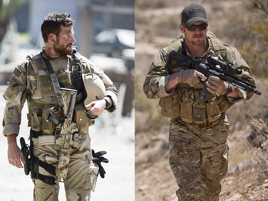 Bradley Cooper as Chris Kyle American Sniper