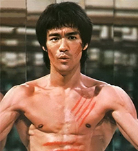 action movie god Bruce Lee