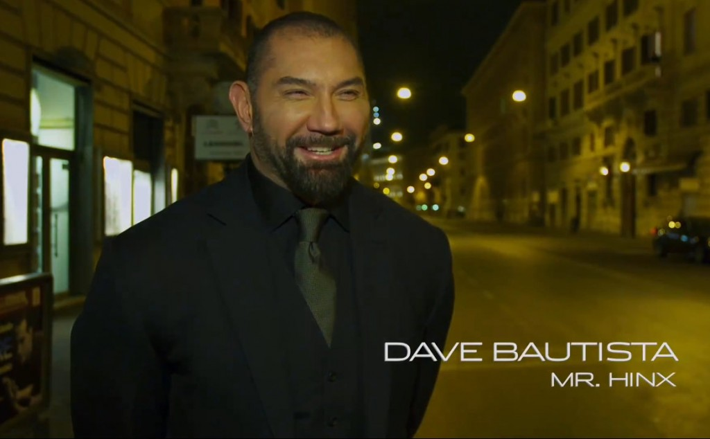 Dave Bautista as Mr. Hinx in Spectre