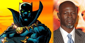 Djimon Hounsou would have been a great Black Panther