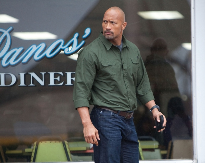 Dwayne The Rock Johnson in the movie Snitch 2013