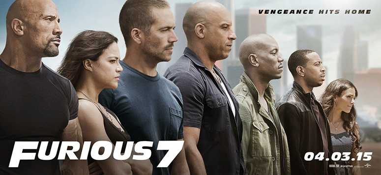 cast of Furious 7
