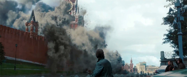 Mission: Impossible- Ghost Protocol Kremlin explosion