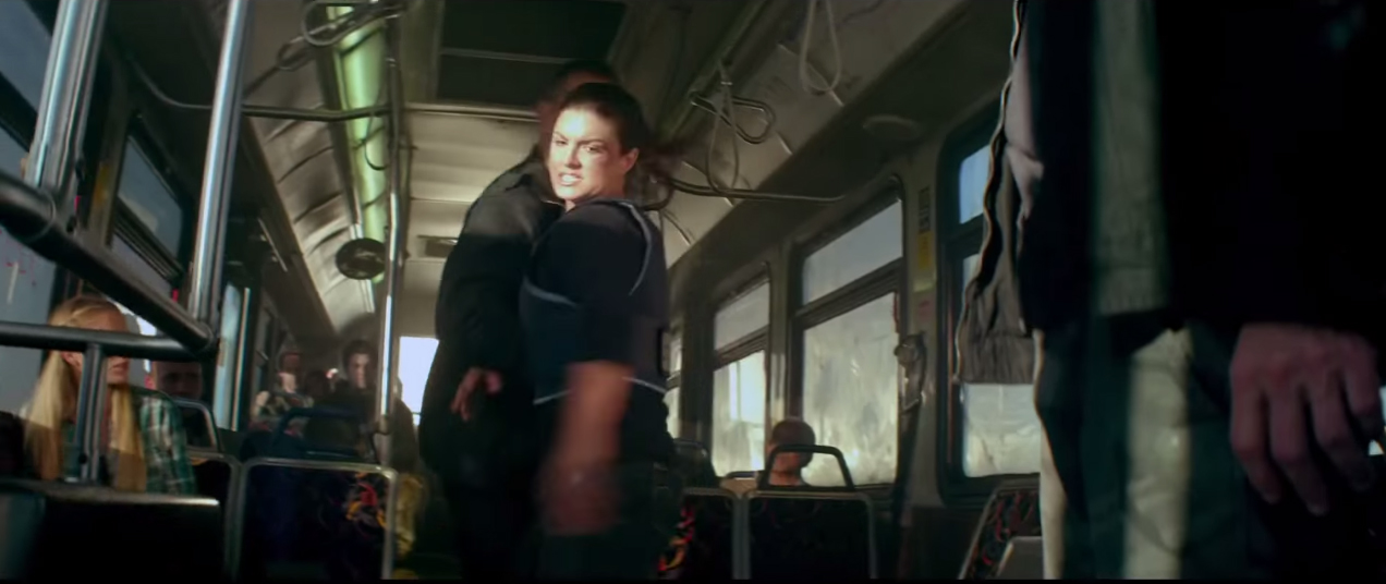 Bus 657 now called Heist starring Gina Carano