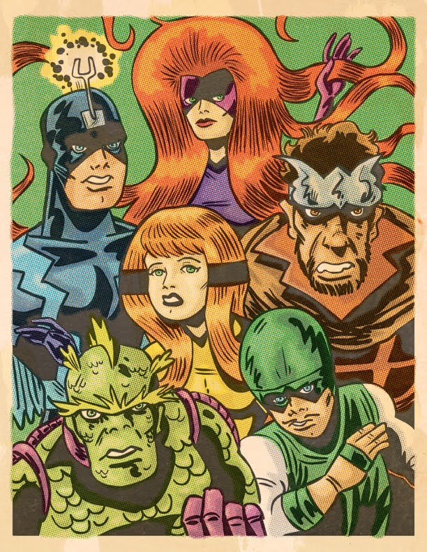 Inhumans comic book characters