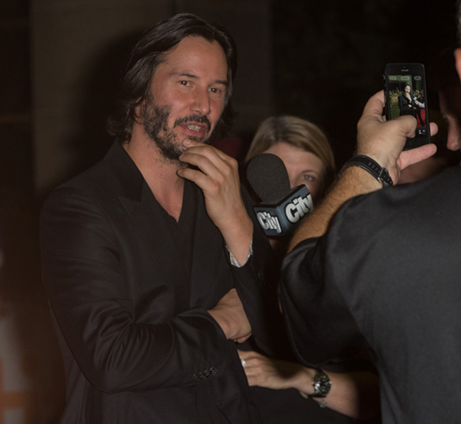 Keanu Reeves at TIFF
