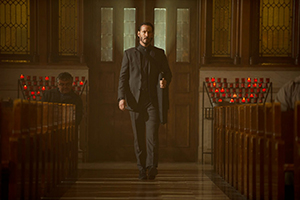 Example of the color scheme in John Wick