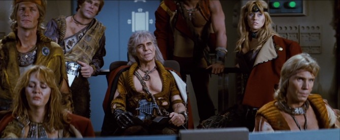 Star Trek II Wrath of Khan crew of the Botany Bay