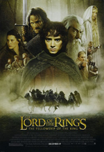 Lord of the Rings Fellowship of the Ring movie poster