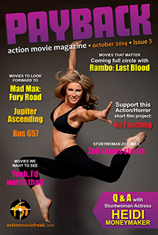 Payback action movie magazine issue 3 October 2014