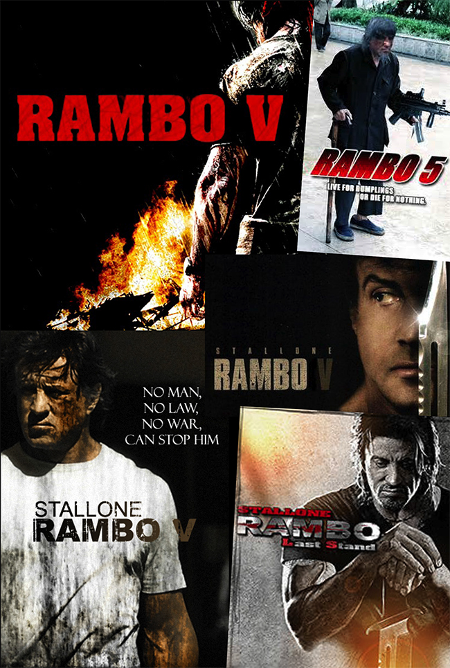 Movies That Matter: Rambo V a story in PAYBACK action movie magazine by actionmoviefreak.com featuring Rambo 5 fan art