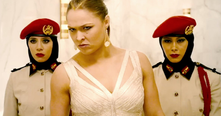Ronda Rousey in Furious Seven