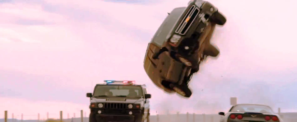 The Last Stand stunt driving