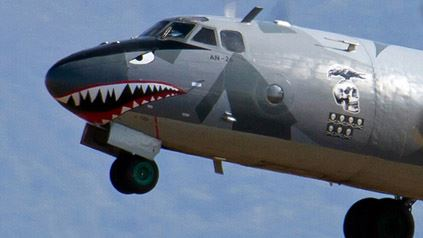 The Expendables 3 plane