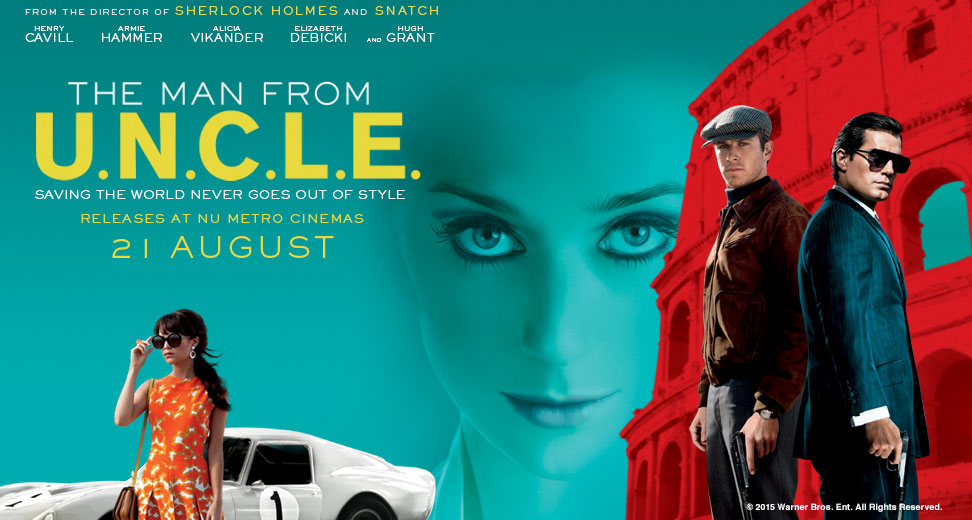 The man From U.N.C.L.E. banner