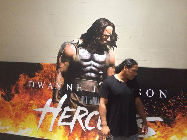 Troy Polamalu as Hercules