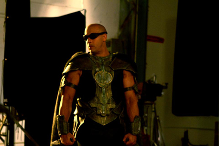 Vin Diesel in Necromonger? outfit from Chronicles of Riddick 3