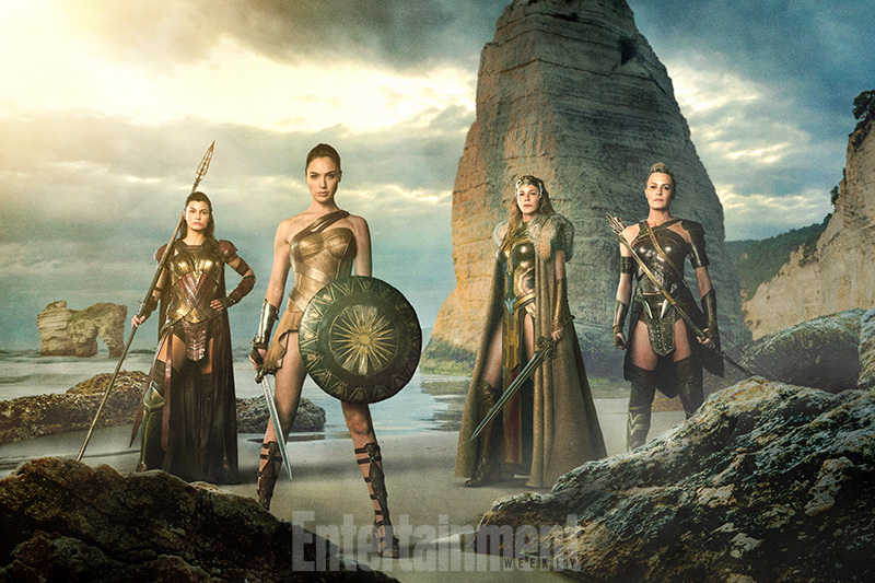 skinny women from Wonder Woman 2017 movie
