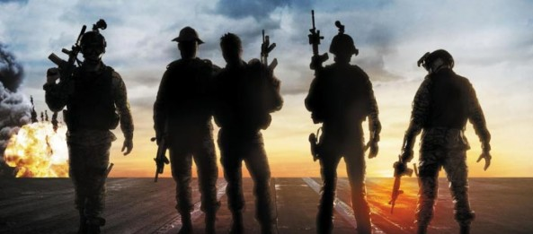 Act of Valor soldiers in silhouette