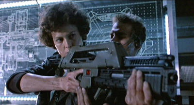 I can handle myself Ripley and Hicks from Aliens