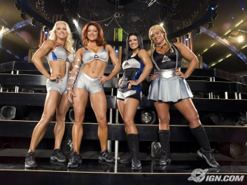 American Gladiators female fighters