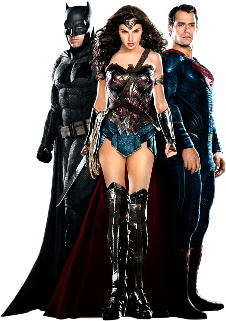 massive batman skinny wonder woman massive superman