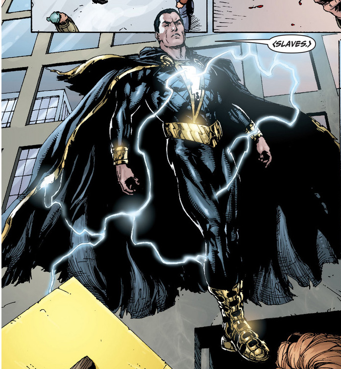 Black Adam comic