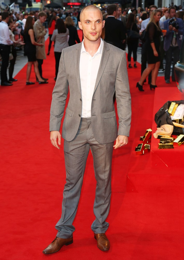 Ed Skrein on the red carpet