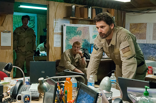 Eric Bana as Commander Christianson in Lone Survivor