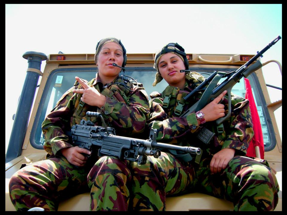 bad ass female soldiers