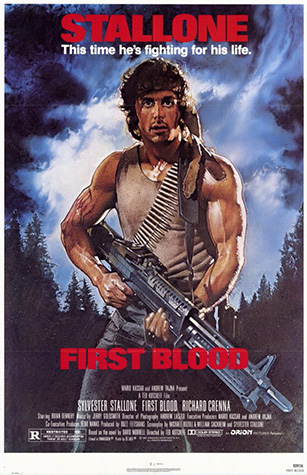 First Blood original movie poster