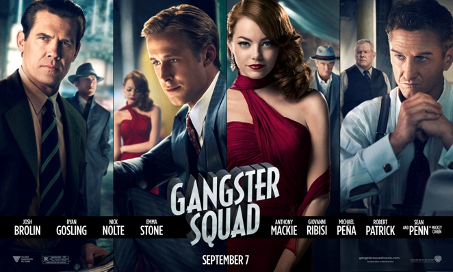 gangster squad movie poster wide banner