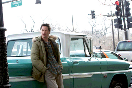 Action Movie Freak Boys and Their Toys Keanu Reeves in The Lake House and pick up truck