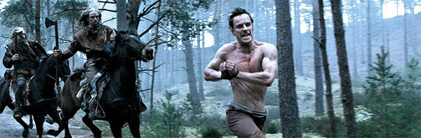 Michael Fassbender Centurion chase scene