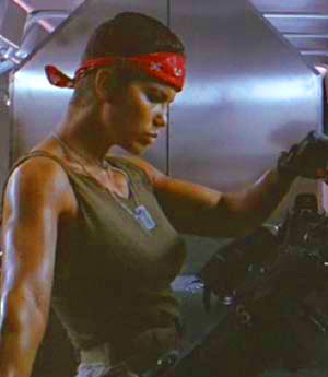 Aliens female character Vasquez