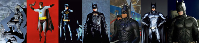 images of all the Batmans