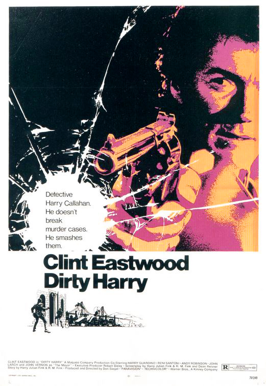 Original Dirty Harry poster