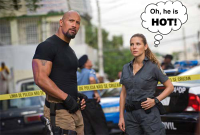 Dwayne The Rock Johnson in Fast Five
