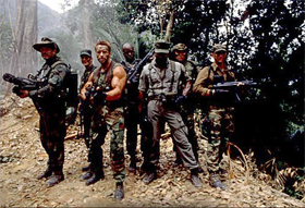 cast from Predator