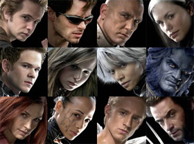 X-Men movie characters