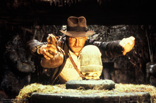 Raiders of the Lost Ark golden idol scene
