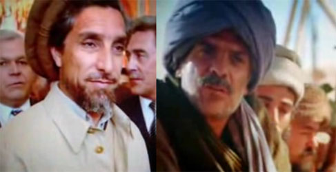 Rambo III Masoud character based on real-life Ahmad Shah Massoud