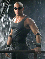 The Chronicles of Riddick, Crematoria shower scene