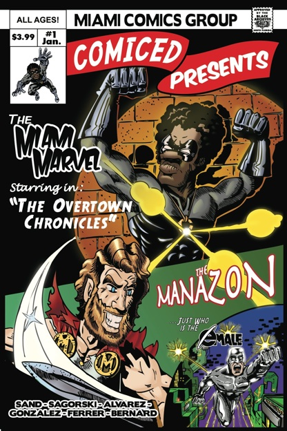 The Miami Marvel comic book cover