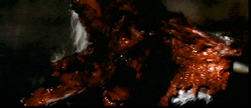 dog splits open in the original The Thing movie