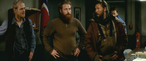 bearded characters in The Thing