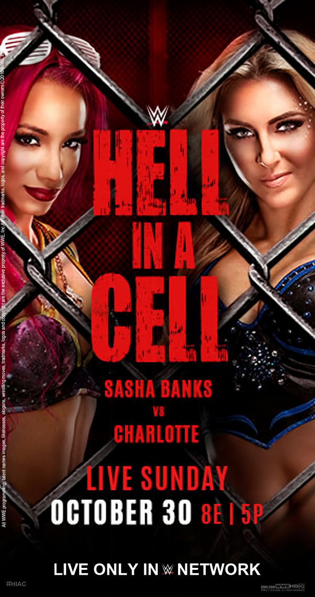 Hell in a Cell Women's Main Event poster